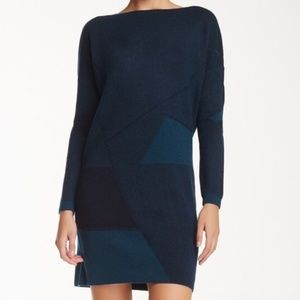 Vince Green Sweater Dress small NWT Wool Cashmere